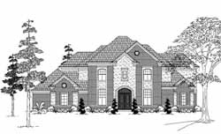Traditional Style House Plans Plan: 62-307