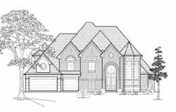 European Style House Plans Plan: 62-315