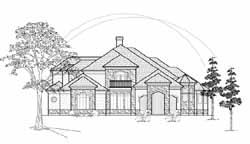 Mediterranean Style House Plans Plan: 62-320