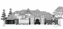 Traditional Style Home Design Plan: 62-329
