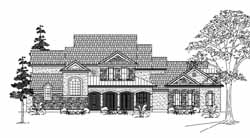 Country Style Floor Plans Plan: 62-332