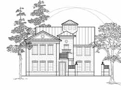 European Style House Plans Plan: 62-334