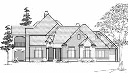 Traditional Style House Plans Plan: 62-336