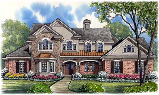 Traditional Style House Plans Plan: 62-338