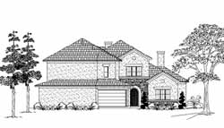 Mediterranean Style Floor Plans Plan: 62-344