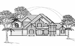 Traditional Style House Plans Plan: 62-345