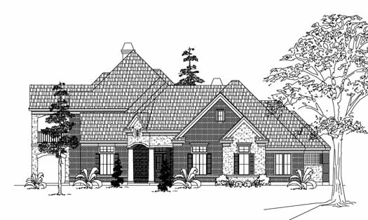 Traditional Style House Plans Plan: 62-358