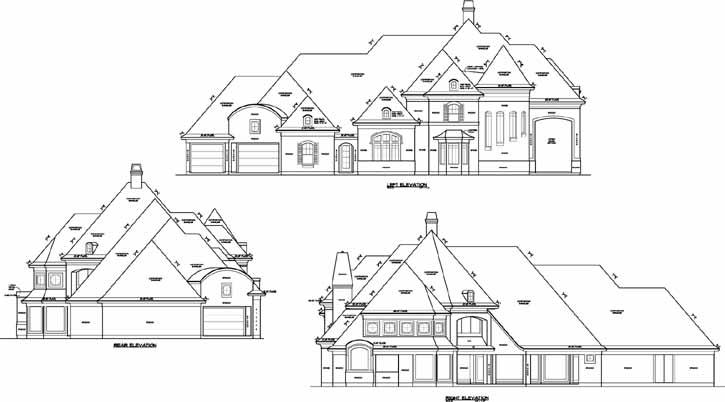 Rear Elevation Plan: 62-367