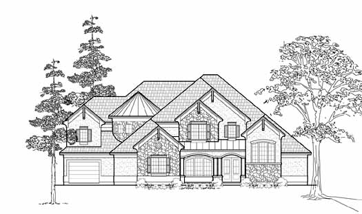 Traditional Style House Plans Plan: 62-372