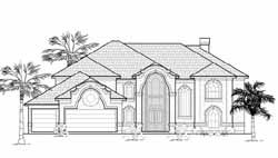 Italian Style House Plans Plan: 62-413