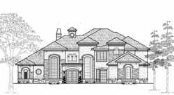 Mediterranean Style House Plans Plan: 62-439