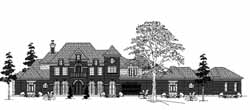 Traditional Style House Plans Plan: 62-465