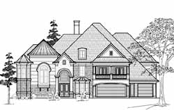 Traditional Style Floor Plans Plan: 62-467