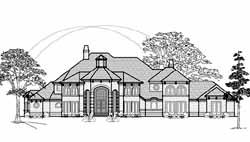 Mediterranean Style House Plans Plan: 62-468