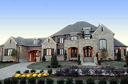 French-Country Style House Plans Plan: 62-473