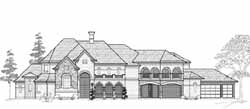 Traditional Style Floor Plans Plan: 62-488