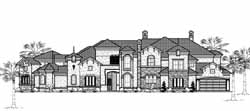 Spanish Style Floor Plans Plan: 62-489