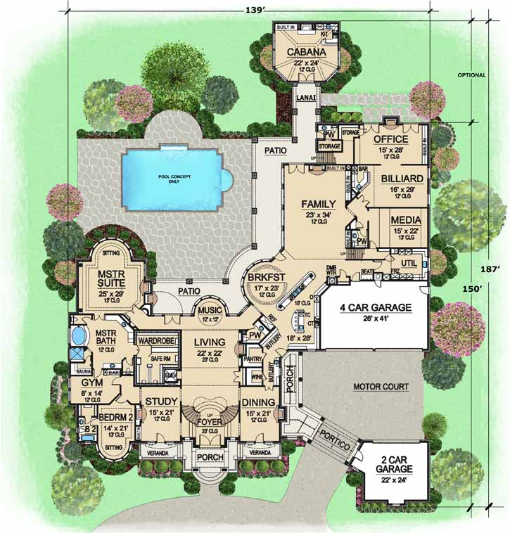 Main Floor Plan: 63-115