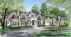 European Style Floor Plans 63-115