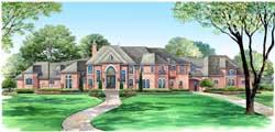 European Style House Plans Plan: 63-142