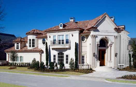 Italian Style Home Design Plan: 63-153
