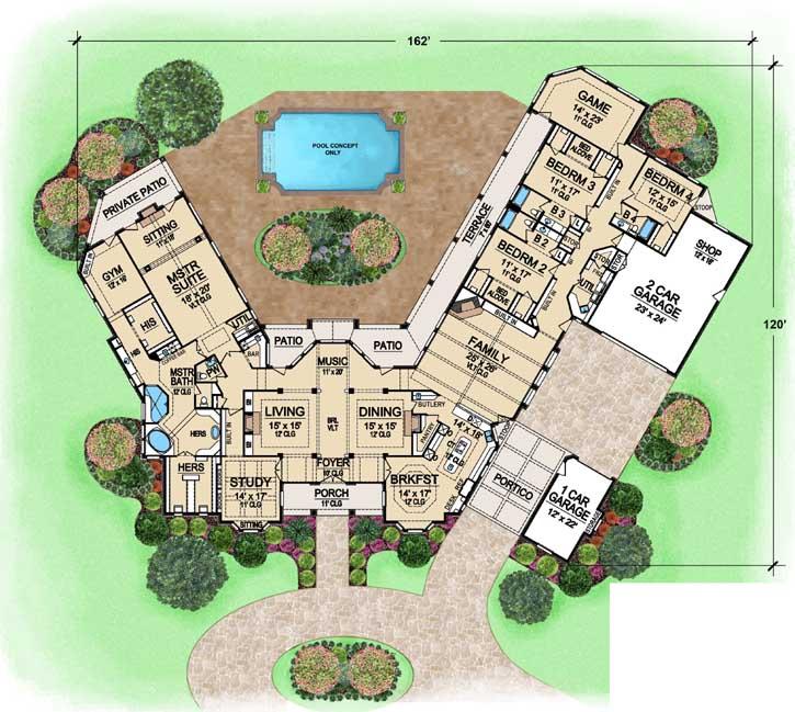 Main Floor Plan: 63-163