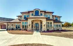 Mediterranean Style Home Design Plan: 63-170
