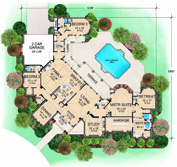 Main Floor Plan: 63-187