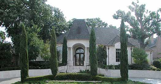 French-country Style Home Design Plan: 63-193