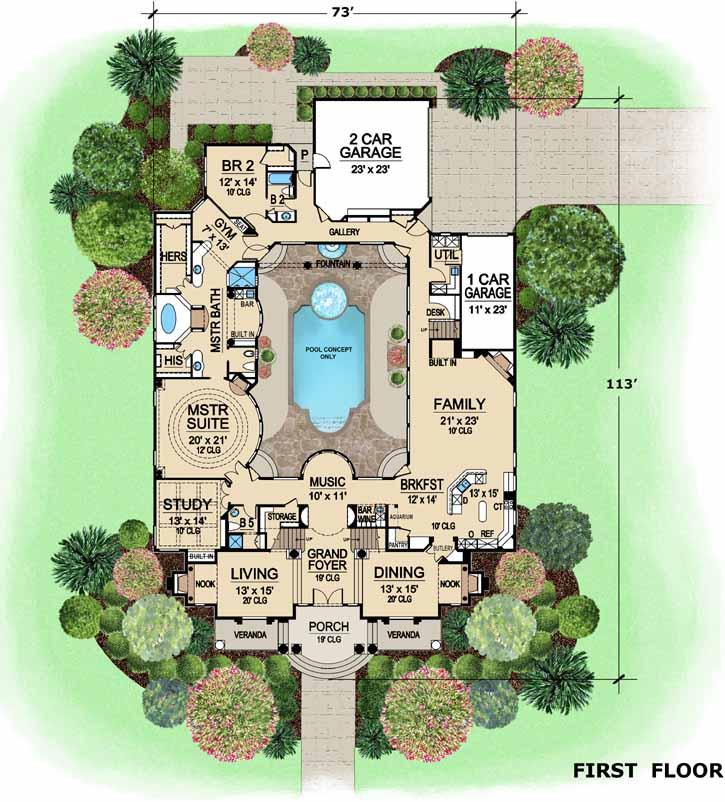 Main Floor Plan: 63-199