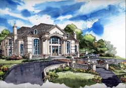 Mediterranean Style House Plans Plan: 63-199
