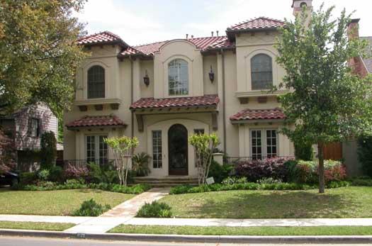Italian Style House Plans Plan: 63-209