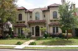 Italian Style Home Design Plan: 63-209