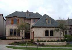 European Style Home Design Plan: 63-220