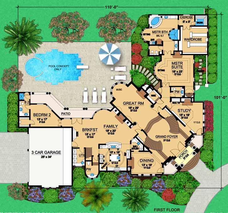Main Floor Plan: 63-227