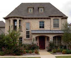 European Style Home Design Plan: 63-288