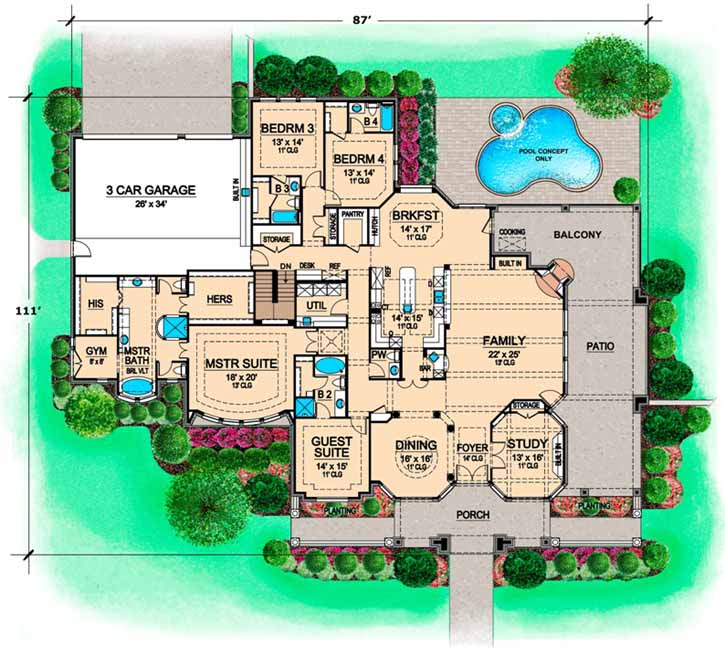 Main Floor Plan: 63-298