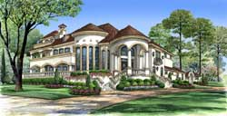 Mediterranean Style Floor Plans Plan: 63-301