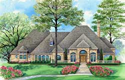 European Style Floor Plans Plan: 63-302