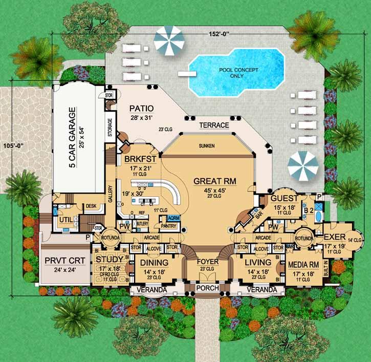 Main Floor Plan: 63-308