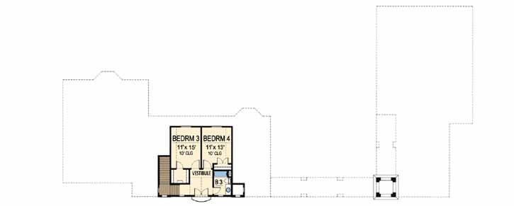 Upper/Second Floor Plan: 63-312