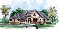 European Style Floor Plans Plan: 63-318