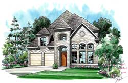 European Style Floor Plans Plan: 63-331