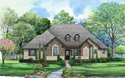 Traditional Style House Plans Plan: 63-357