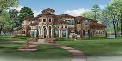 Mediterranean Style House Plans Plan: 63-359