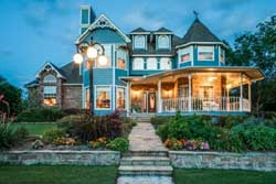 Victorian Style Home Design Plan: 63-360