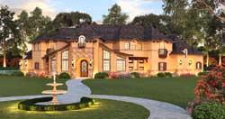 Mediterranean Style House Plans Plan: 63-361