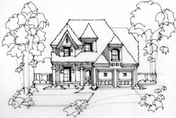 European Style Floor Plans Plan: 63-433