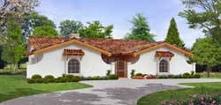 Spanish Style House Plans Plan: 63-442
