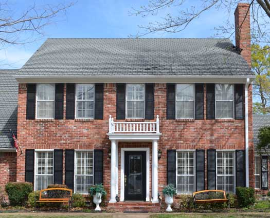Early-american Style Floor Plans Plan: 63-450